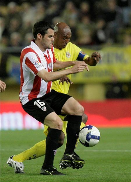 Vila-Real eta Athleticen arteko partidako irudi bat. Orbaiz.