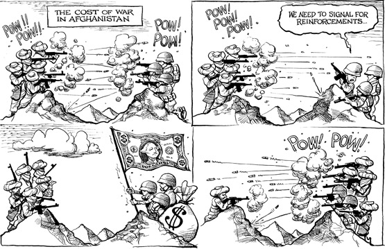 Afganistanen gertatzen dena KALen arabera