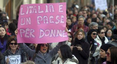 Italiako manifestazioko irudi bat