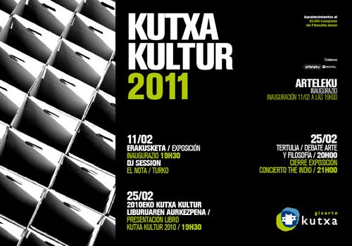 Musika, zinema, komikia, moda, argazkilaritza eta artea Kutxa Kultur Zirkuituaren ardatzak