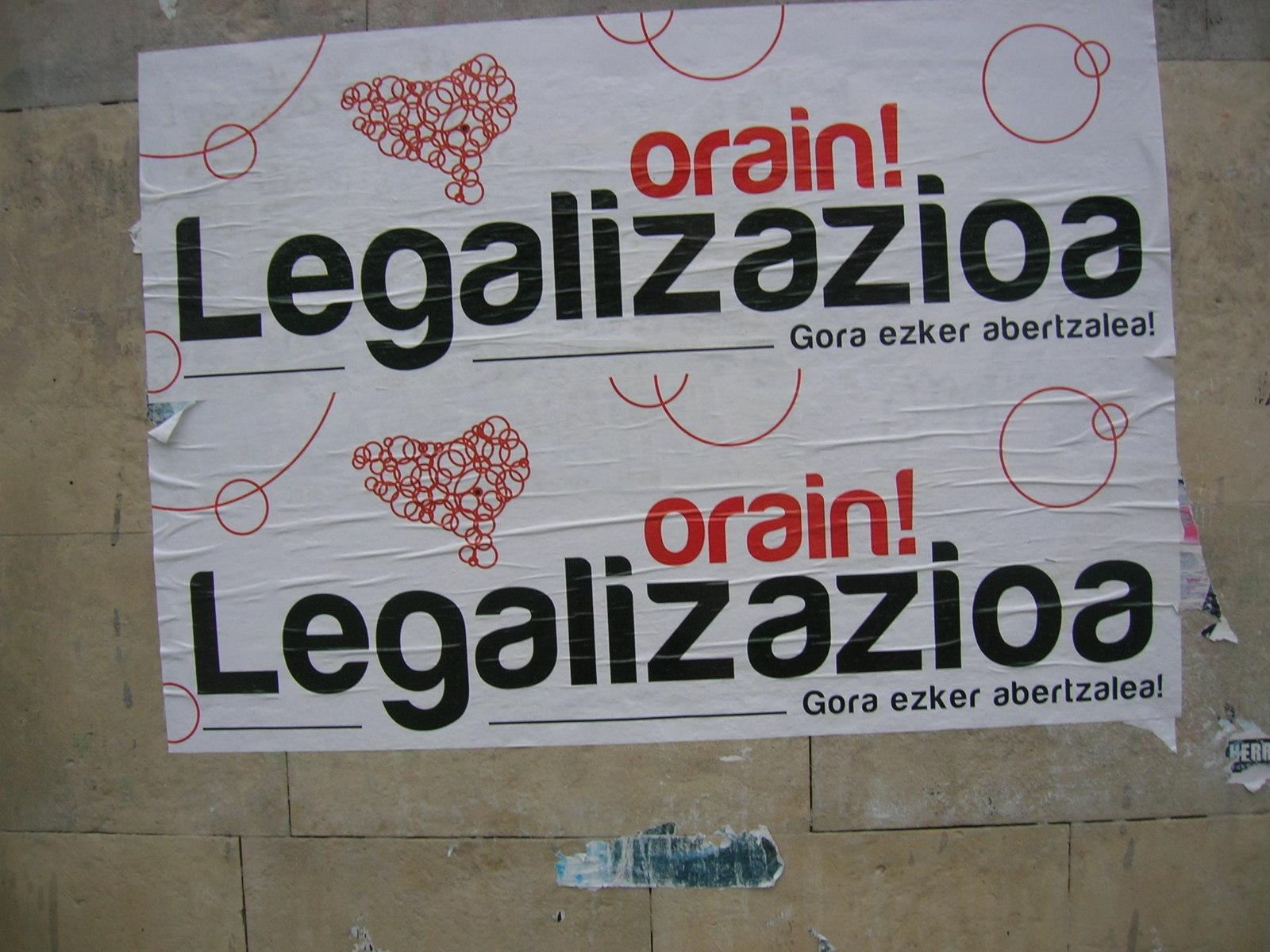 Legalizaziora bidean, larunbateko manifestaziora deia egin dute kultur munduko ezagunek