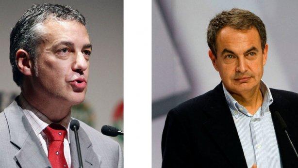 Iñigo Urkullu eta Jose Luis Rodriguez Zapatero