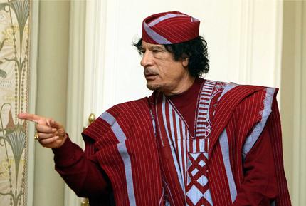Gadafik ez duela Libiako Gobernua utziko esan du