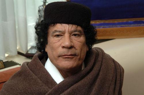 Gaddafi notizien erdigunean ez ezik, bideoklipetan ere bai