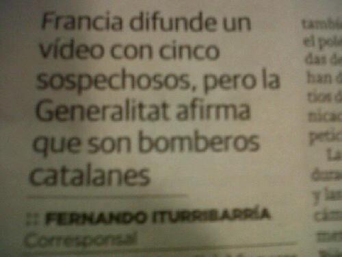 El Correo egunkarian notiziaren hasiera nola jarri duten