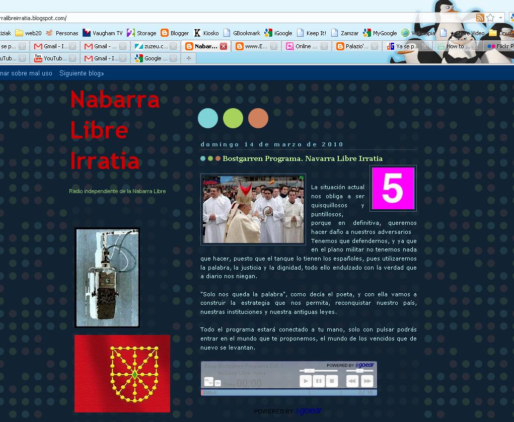 Nabarra Libre Irratiaren gunea