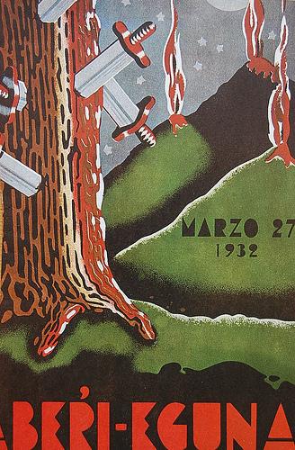 1932ko aberri eguneko kartela - Zer ekarriko du Aberri egunak?