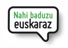 Nahi baduzu, euskaraz