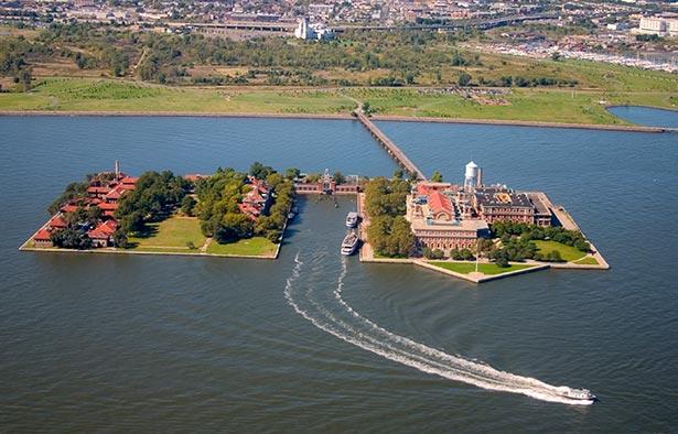 Ellis Island Malkoen uhartea