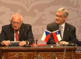 Vaclav Klaus, boligrafo bat lapurtzeagatik gogoratuko dugun presidentea