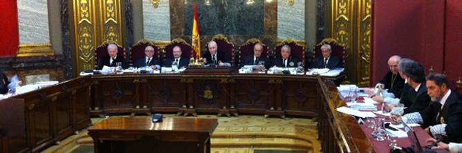 Espainiako Tribunal Gorena