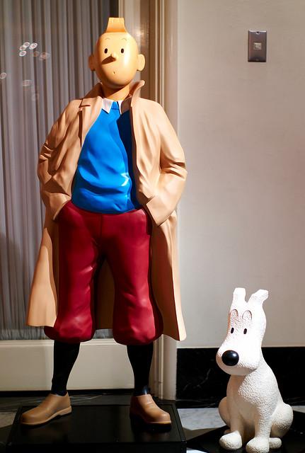Tintin erruztatuen aulkian eseriko da irailean