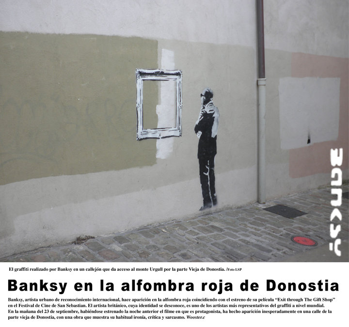Banksy Donostian?