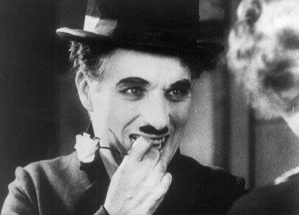 Charles Chaplinen 'The Circus' filma
