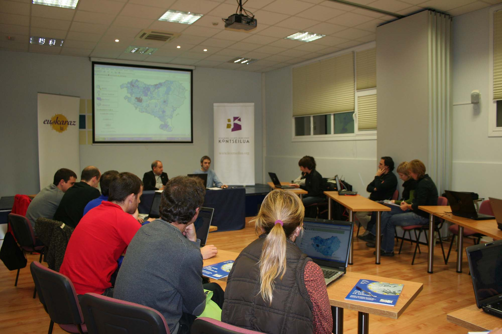 Euskalgintzaren mapa direktorioa aurkeztu du Kontseilua