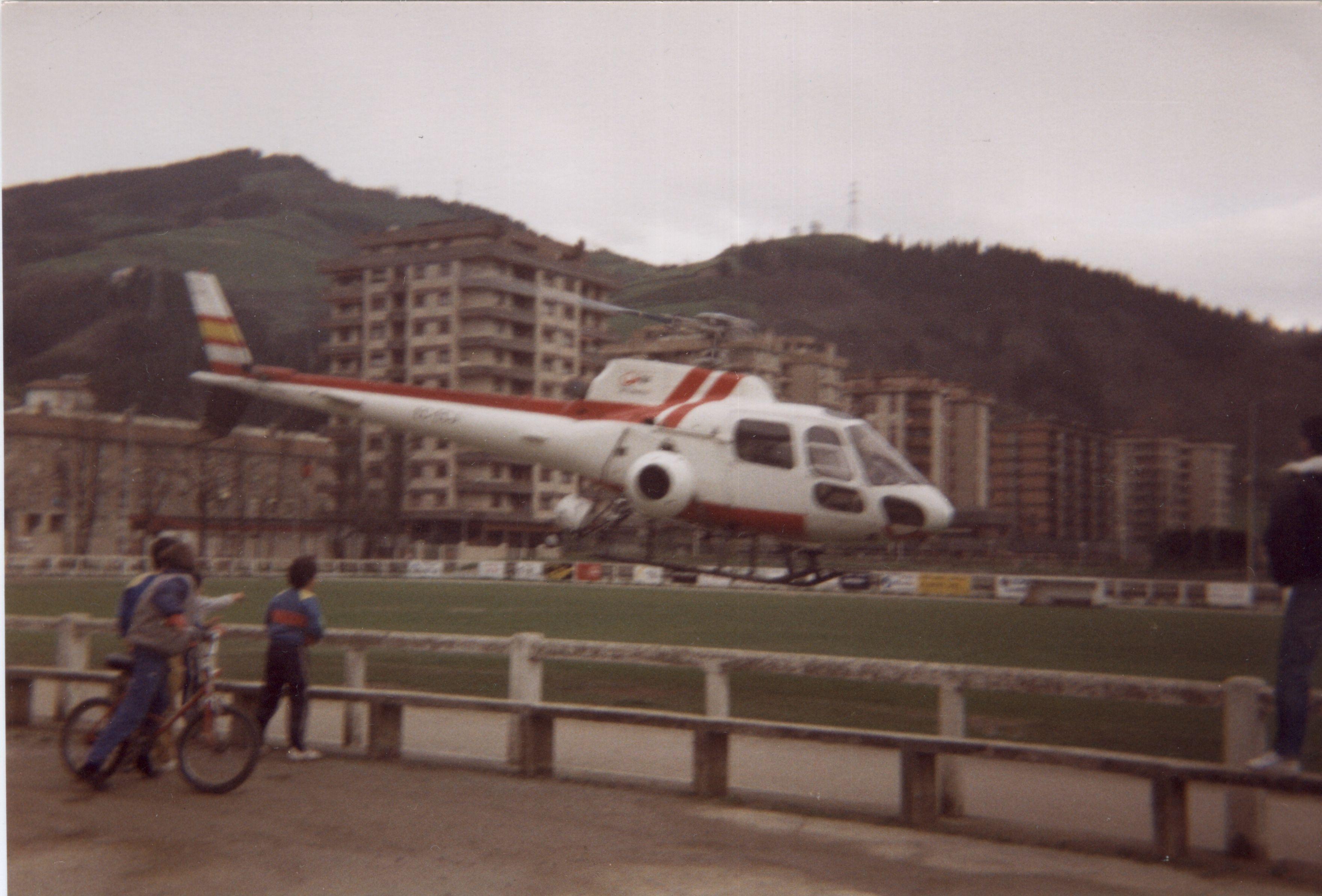 Helikopteroa Loinazen