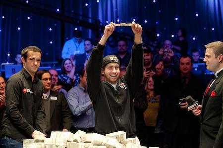 Jonathan Duhamel poker jokalariak Munduko Txapelketa irabazi du