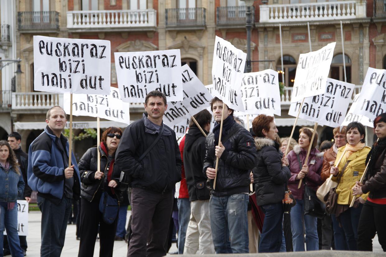 Iruñea, maiatzean egindako manifestazioa